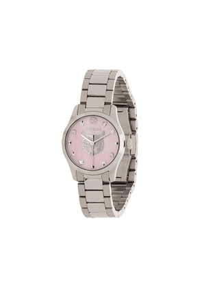 Gucci G-Timeless 26mm watch - SILVER