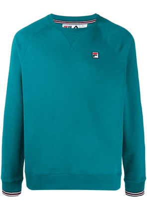 Fila embroidered logo sweater - Blue
