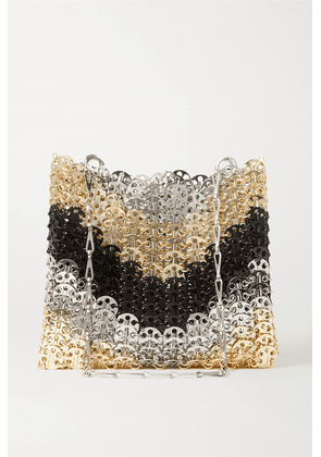 Paco Rabanne - Iconic 1969 Paillette-embellished Chainmail Shoulder Bag - Gold