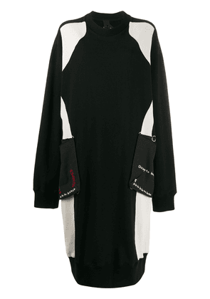 Bernhard Willhelm oversized sweater dress - Black