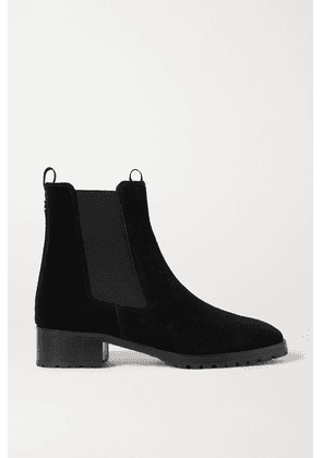 aeyde - Karlo Suede Chelsea Boots - Black