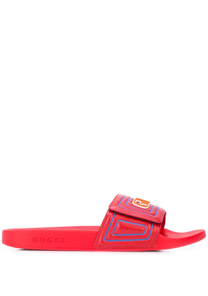 Gucci Logo Pool Slides