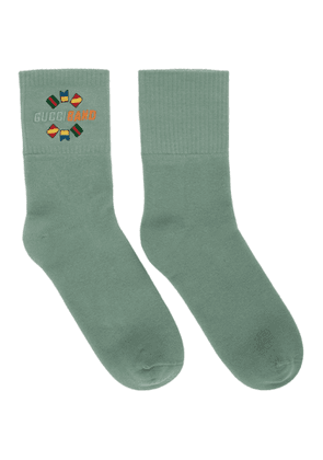 Gucci Green Band Socks