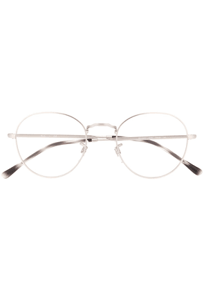 Ray-Ban round frame optical glasses - SILVER