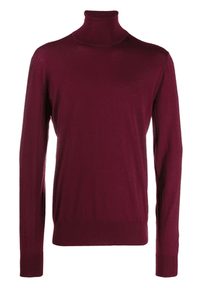 Dolce & Gabbana roll neck sweater - Red
