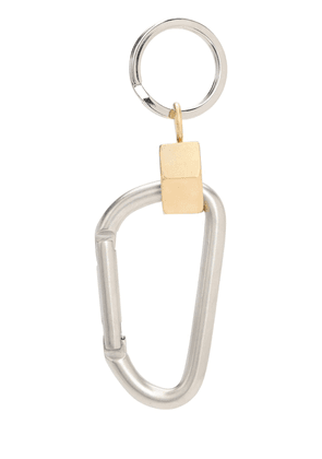 Bicolor Carabiner Key Holder
