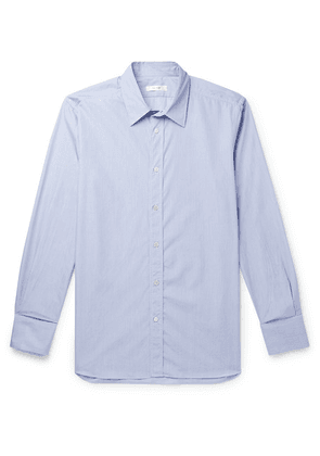 The Row - Keith Striped Cotton Shirt - Blue
