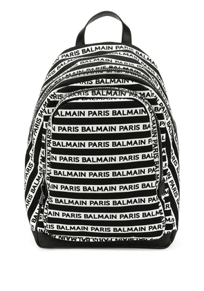 Balmain small urban backpack - White