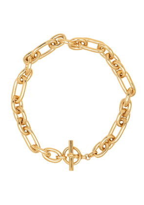 Medium Watch 18kt gold-plated chain necklace