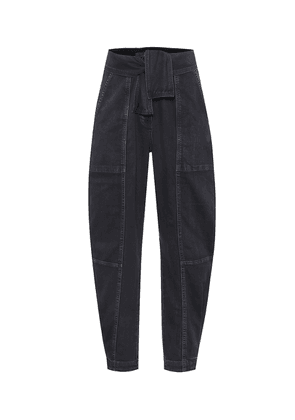 Storm high-rise carrot jeans