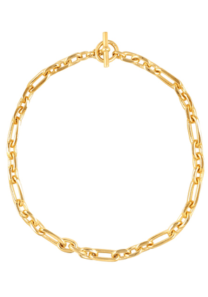 Fine Watch 18kt gold-plated chain necklace
