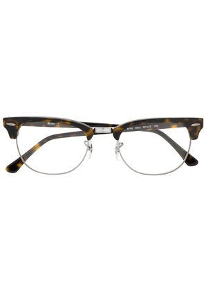 Ray-Ban Clubmaster glasses - Brown