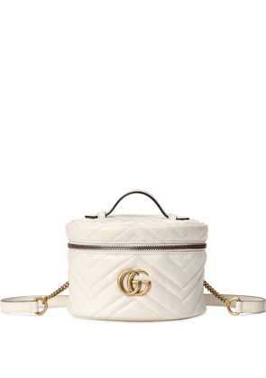 Gucci GG Marmont mini backpack - White