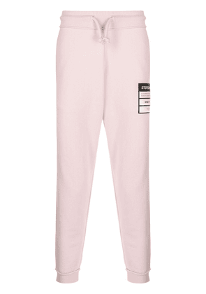 Maison Margiela Stereotype patch track pants - PINK