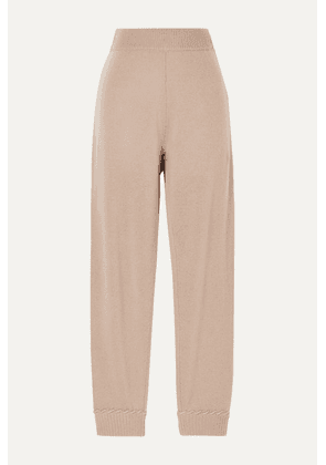 Theory - Cashmere Track Pants - Tan