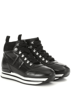 Polacco leather sneakers