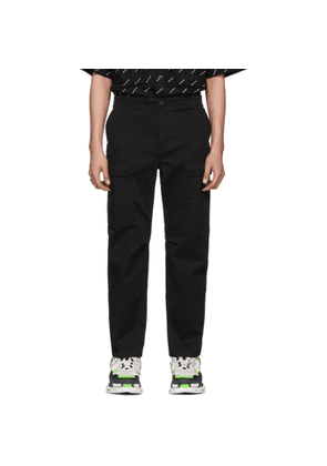 Balenciaga Black Army Cargo Pants