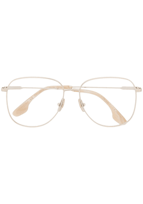 Victoria Beckham aviator glasses - Metallic