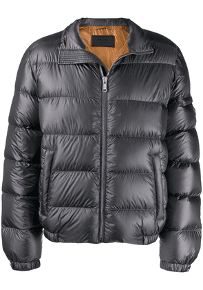 Prada Rip Stop padded jacket - Grey