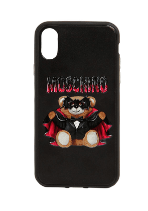 Teddy Printed Canvas Iphone X Cover