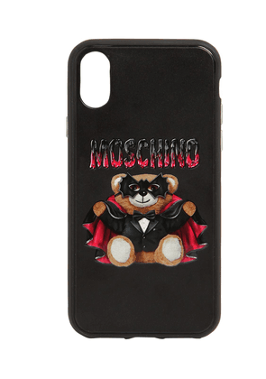 Teddy Printed Canvas Iphone Xs Max Cover