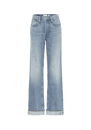 '90s Relaxed mid-rise straight jeans