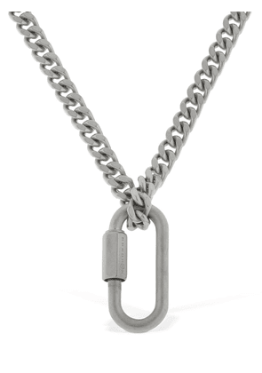 Chunky Chain W/ Carabiner Necklace