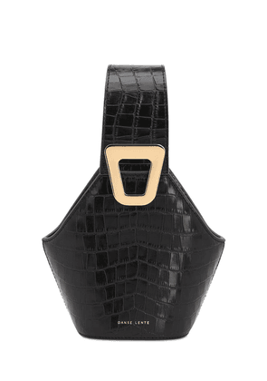 Xs Jhonny Croc Embossed Leather Bag