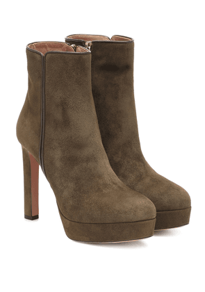 Quant 120 suede ankle boots