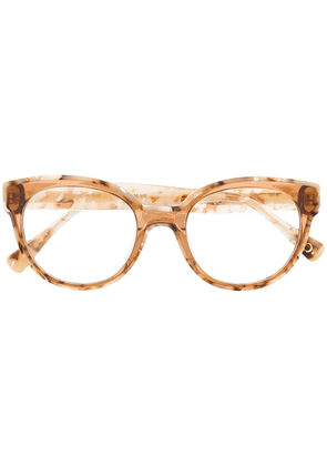 Etnia Barcelona Tuileries cat-eye glasses - Brown