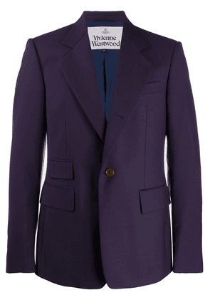 Vivienne Westwood fitted single-breasted blazer - Blue