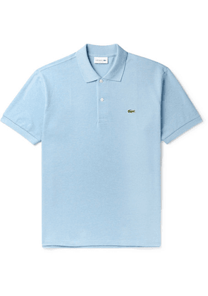 Lacoste - Logo-appliquéd Cotton-piqué Polo Shirt - Blue