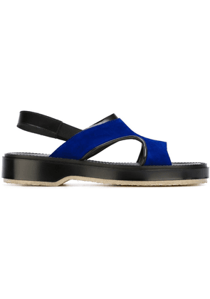Adieu Paris cut-out sandals - Blue