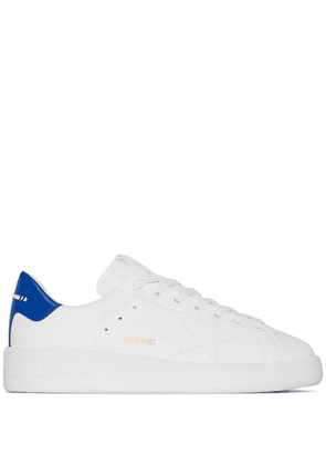 Golden Goose Pure Star leather sneakers - White
