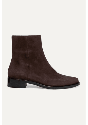LEGRES - 02 Suede Ankle Boots - Brown