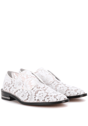 Derby Double Chain lace shoes