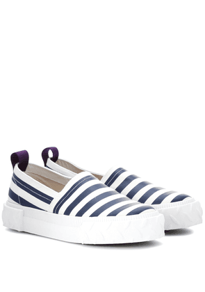 Viper striped slip-on sneakers
