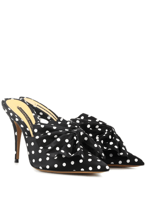 Kate 100 polka-dotted mules