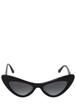 Devotion Logo Cat-eye Acetate Sunglasses
