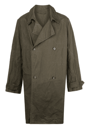 Casey Casey relaxed fit raincoat - Green