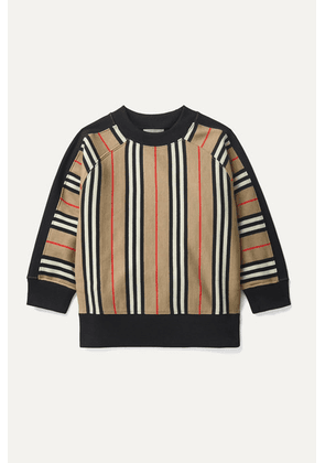 Burberry Kids - Ages 3 - 12 Striped Cotton-jersey Sweatshirt
