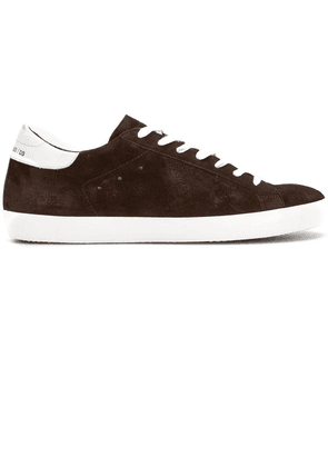 Golden Goose star lace up sneakers - Brown