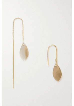 Isabel Marant - Ali Gold-tone And Shell Earrings - one size