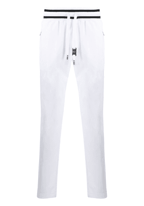Dolce & Gabbana logo patch track trousers - White