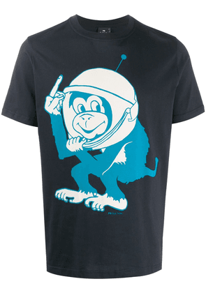PS Paul Smith Space Monkey T-shirt - Blue
