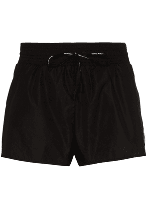 Off-White technical fabric contrast shorts - Black