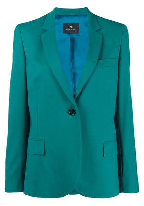 PS Paul Smith single-breasted tailored blazer - Green
