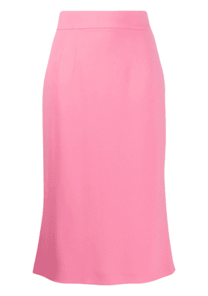 Dolce & Gabbana fitted midi skirt - PINK