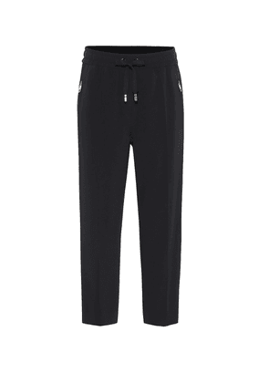 Cropped cady trackpants