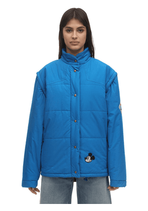 Quilted Cotton Poplin & Tech Jacket